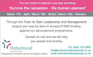 Motivational workshops for local firms