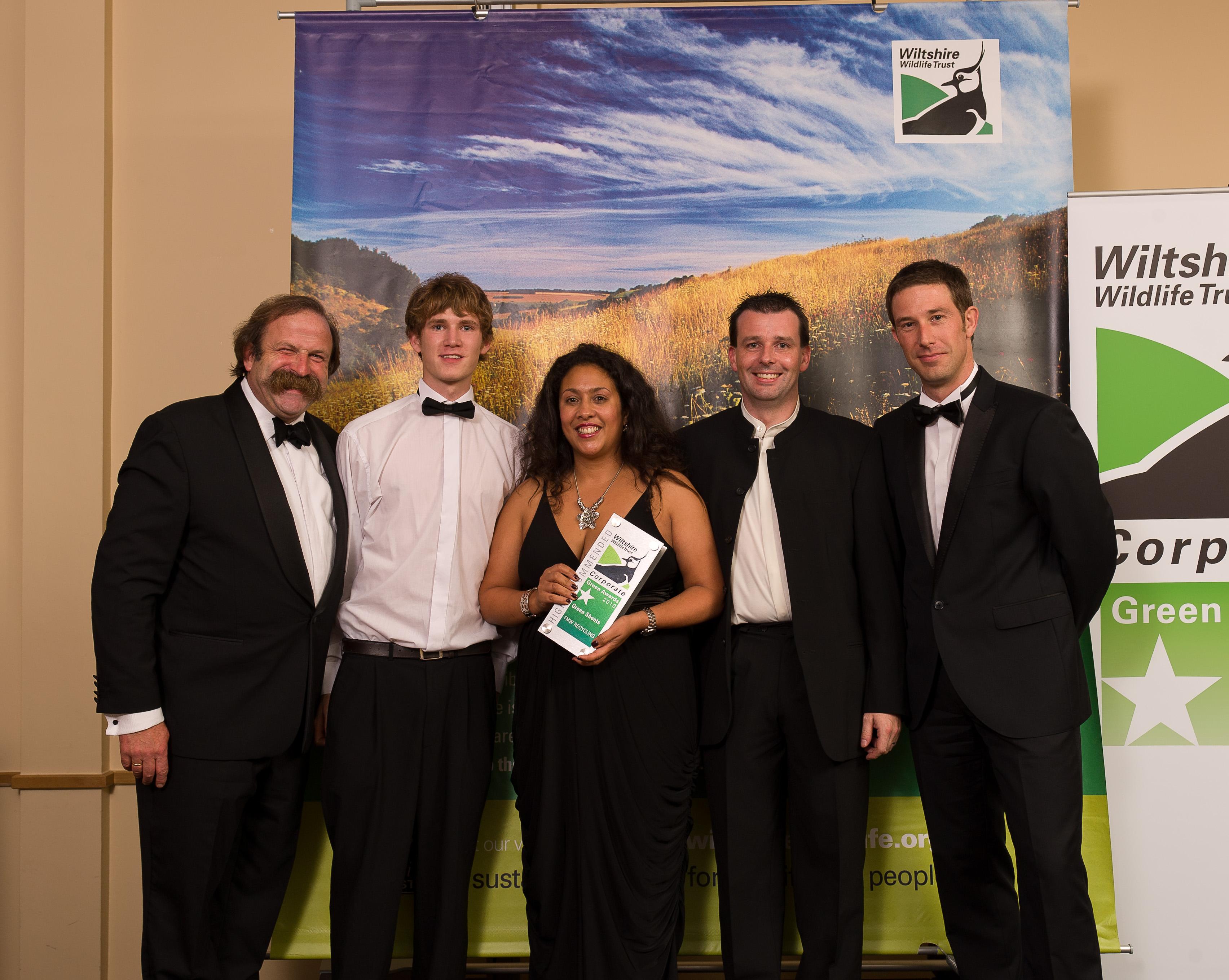 FMW wins Corporate Green Shoots award