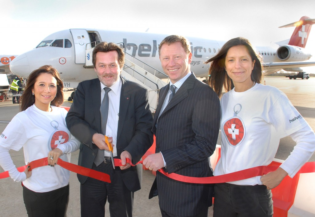 Up, up and away with Helvetic as new Zurich flights take off