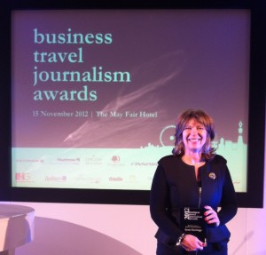 Top industry award for Swindon Business News travel writer Anne