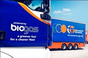 New dual-fuel trucks help Howard Tenens in its drive towards carbon reduction