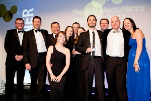 Top accountancy award for Swindon firm d&t recognises its 'no bull' approach