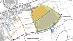 Massive warehouse park on Swindon's eastern fringe would create 2,000 jobs, say developers