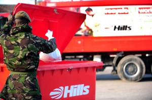 'Zero-to-landfill' commitment gives Hills victory in extension to Army garrison waste contract