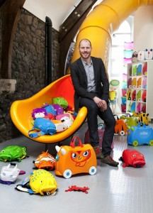 Trunki inventor and 'dragon-slayer' to make case for innovation at Business Show Swindon