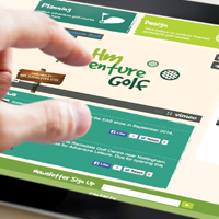 Swindon golf course design firm's new website tees off – with help from Jazzbones