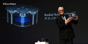 Sir James Dyson launches the robot vacuum that cleans while you're out
