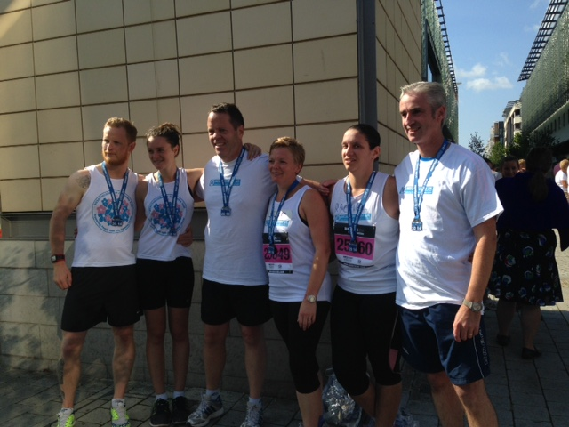 Half-marathon runners get in their stride to raise funds for 'Swindon Disease' charity