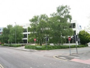Swindon town centre former Zurich showpiece office comes onto market
