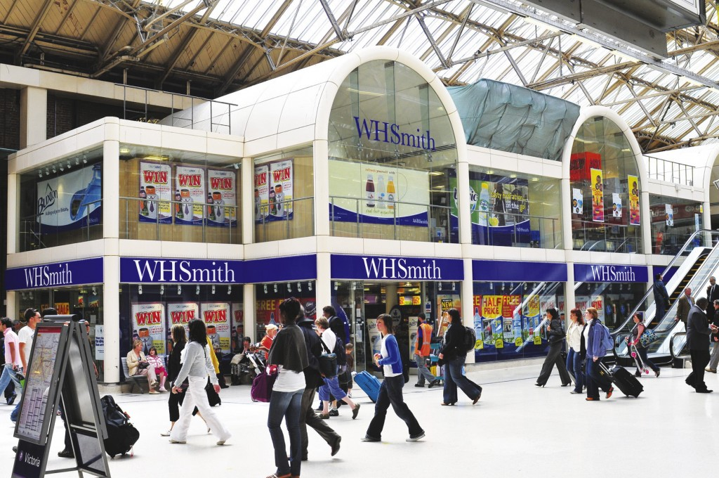 Record performance by its travel outlets lifts profits at WH Smith despite decline in high street sales