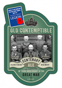 Arkell's to brew remembrance beer to mark 100th anniversary of start of WW1
