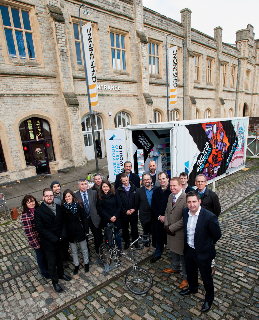 Colourful exporting campaign draws on street art to get more Swindon firms selling overseas