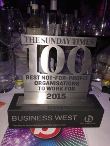 'Best not-for-profit company' ranking for Business West