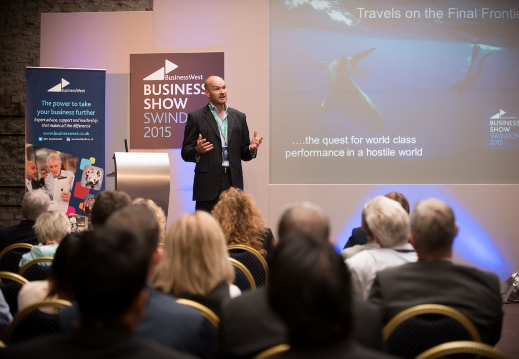 Leaders need to overcome 'red star' moments to be successful, Monty Halls tell Business Show Swindon
