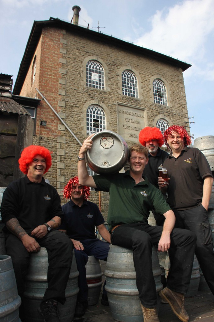 Take it as red. Ginger inspires Arkell's brewer's latest beer
