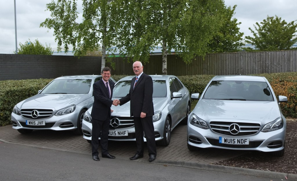 Trio of new Mercedes boosts Flightlink's partnership with Swindon luxury car dealer