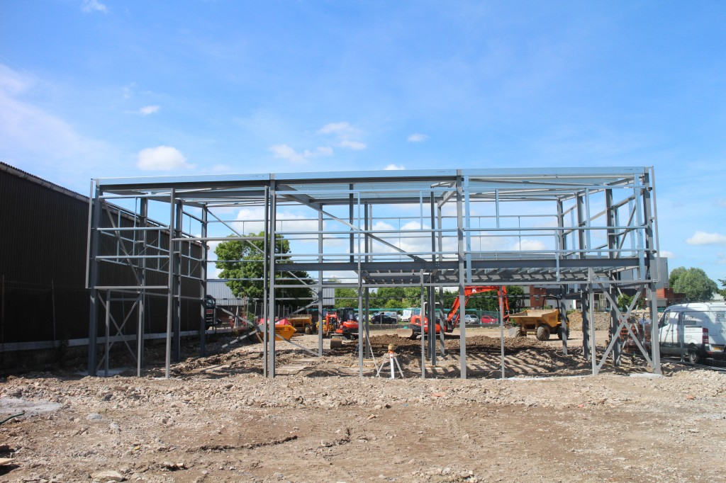 Speculative development gets under way at Swindon industrial park as demand gathers pace