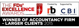 Excellence Award victory makes it four wins in four years for accountants Haines Watts