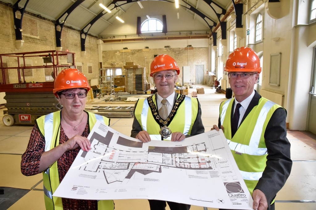 Chippenham arts centre upgrade project for Swindon building firm Beard