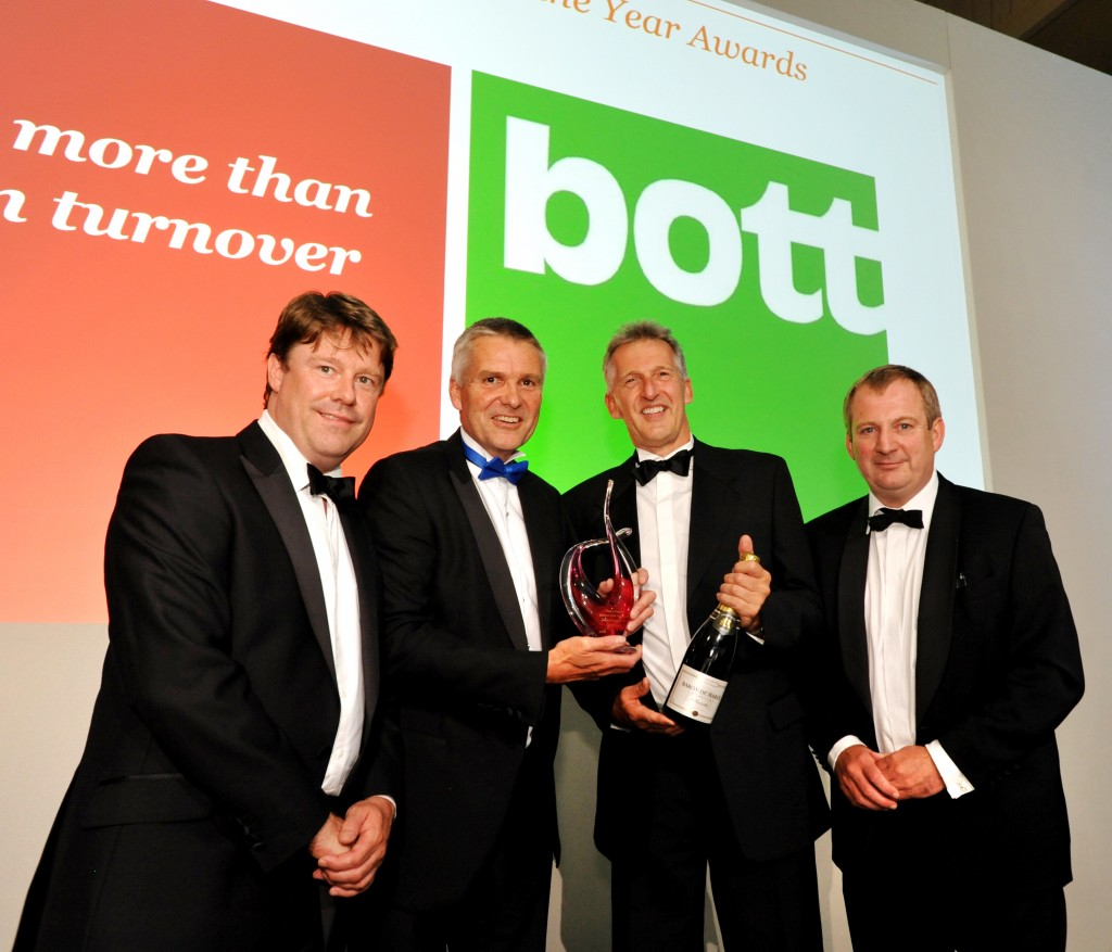 Storage group Bott lands prestigious PWC Business of the Year Award