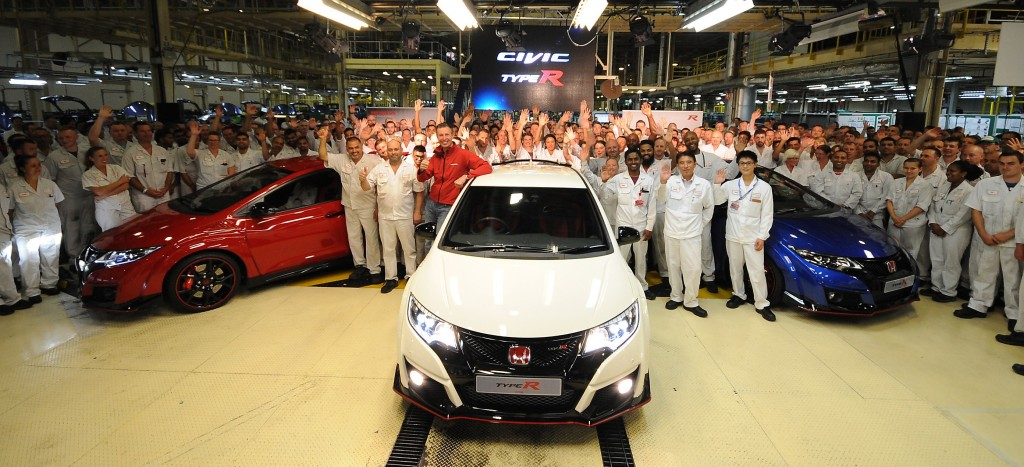 New optimism for Honda's troubled Swindon plant as world-beating model rolls off production line