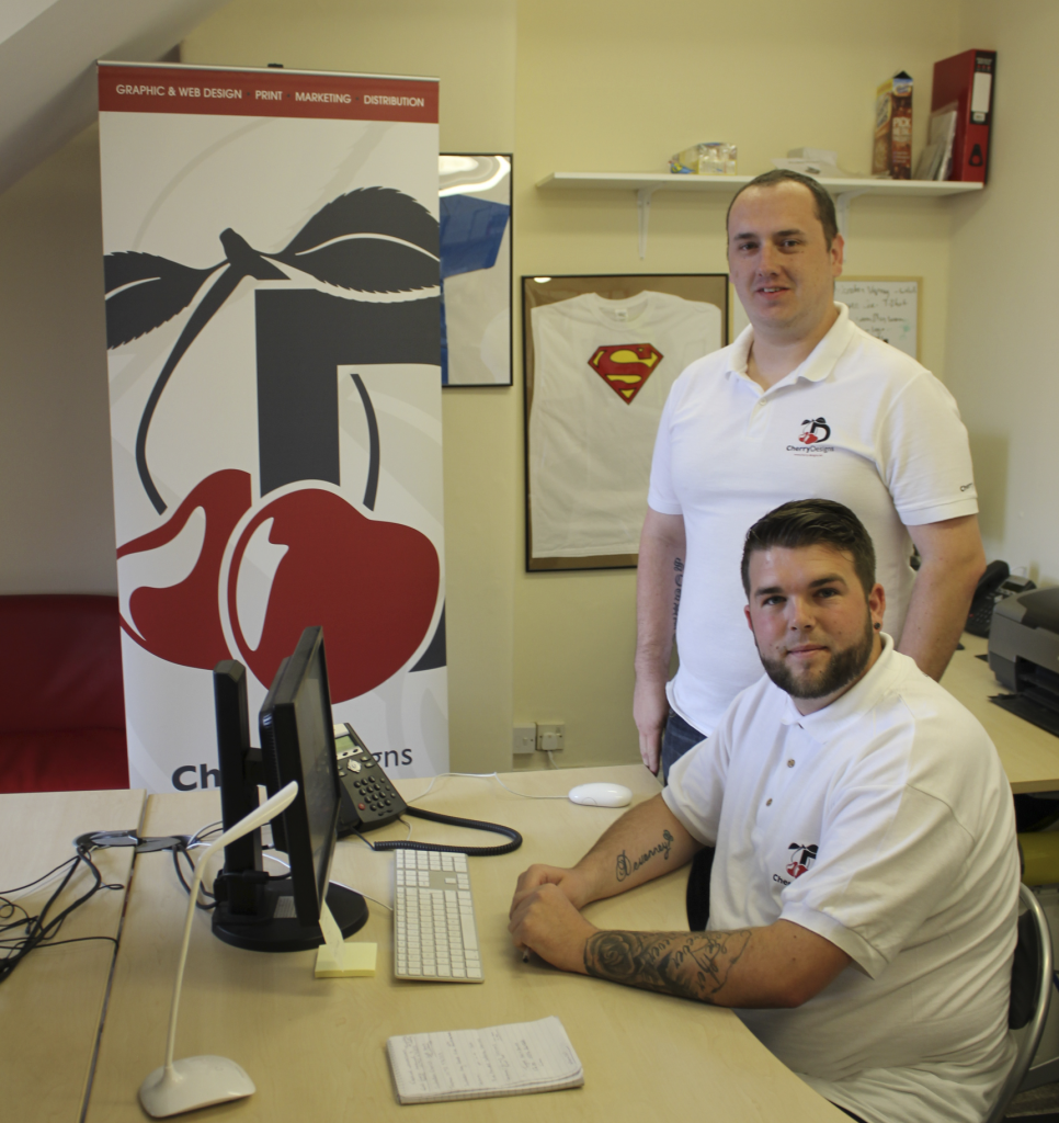 New account manager for fast-growing design and marketing agency Cherry Designs