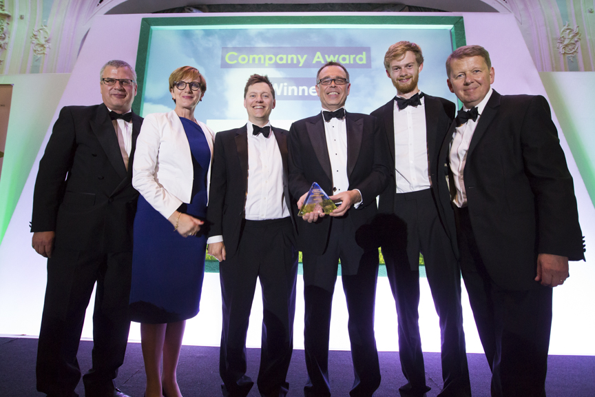 Company of the Year and Customer Service titles go to Good Energy at top green awards