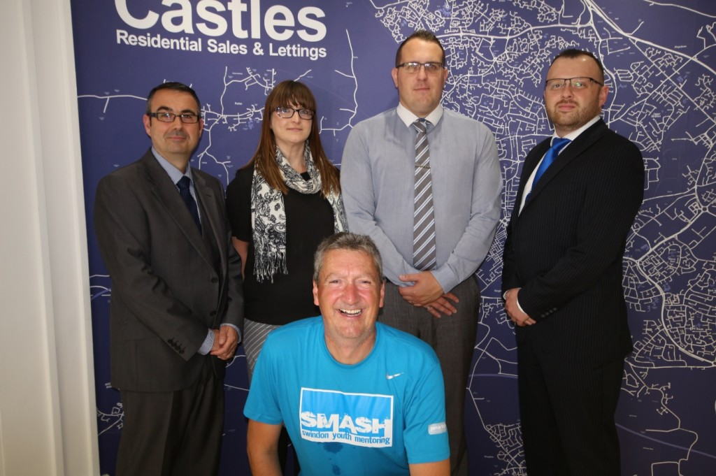 Top sports nutritionist prepares for 'toughest race' with backing from Castles estate agents