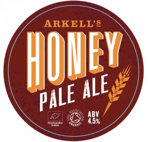 Arkell's tells 'em about the honey to bee clear about organic beer's 'secret' ingredient
