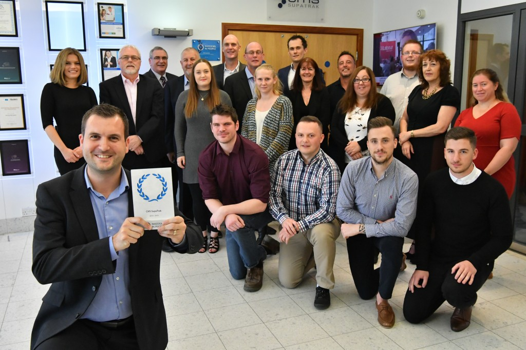 Commitment to its staff earns Investors in People accreditation for CMS SupaTrak