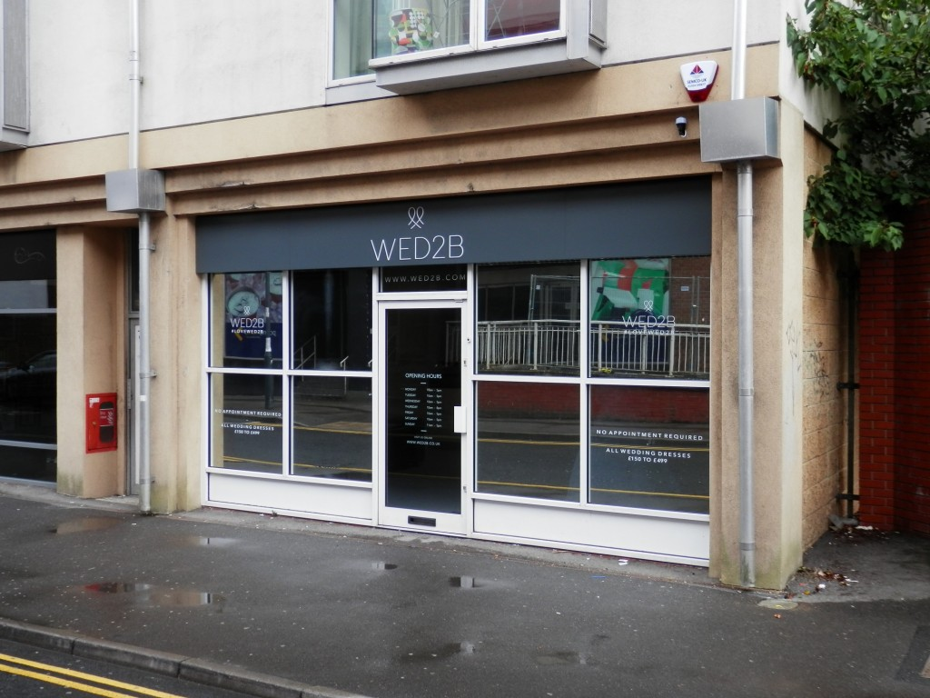 Bridal wear retail group ties the knot on vacant town centre shop ...