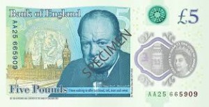 Swindon Business Blog: Donna Kehoe, regional agent, Bank of England. Take note – our new 'plastic' fiver  arrives next week