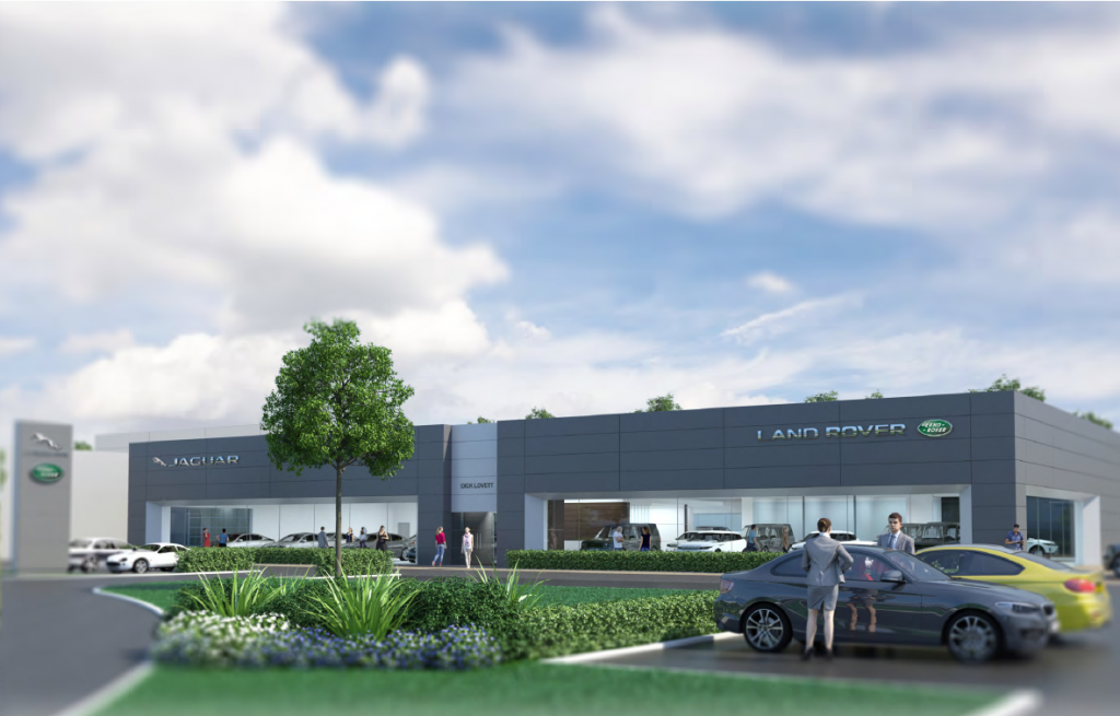 Dick Lovett in drive to create 150 jobs at new showroom complex