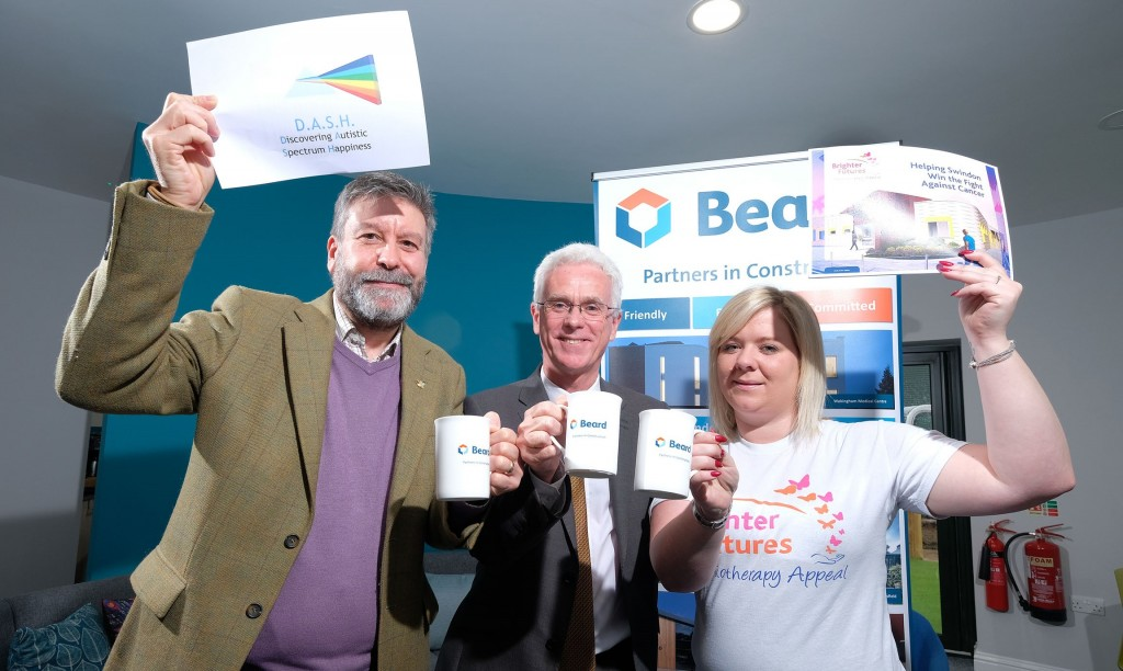 Two Swindon charities to benefit from Beard's 125th anniversary celebrations