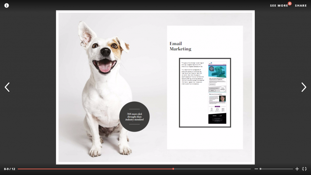 Creative Business News campaign of the month: Bravedog, Small Animal PgC