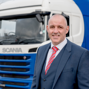 Third year in driving seat of freight transport accreditation scheme for recruitment agency boss
