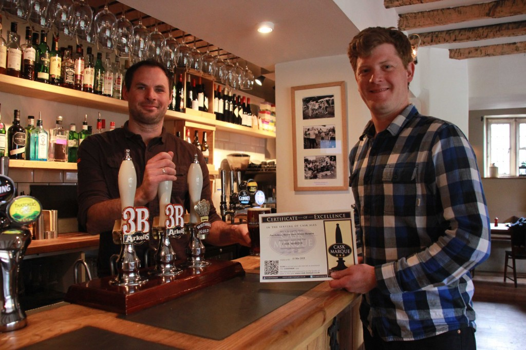 Cask ale quality scheme serves up full marks for Arkell's best cellars