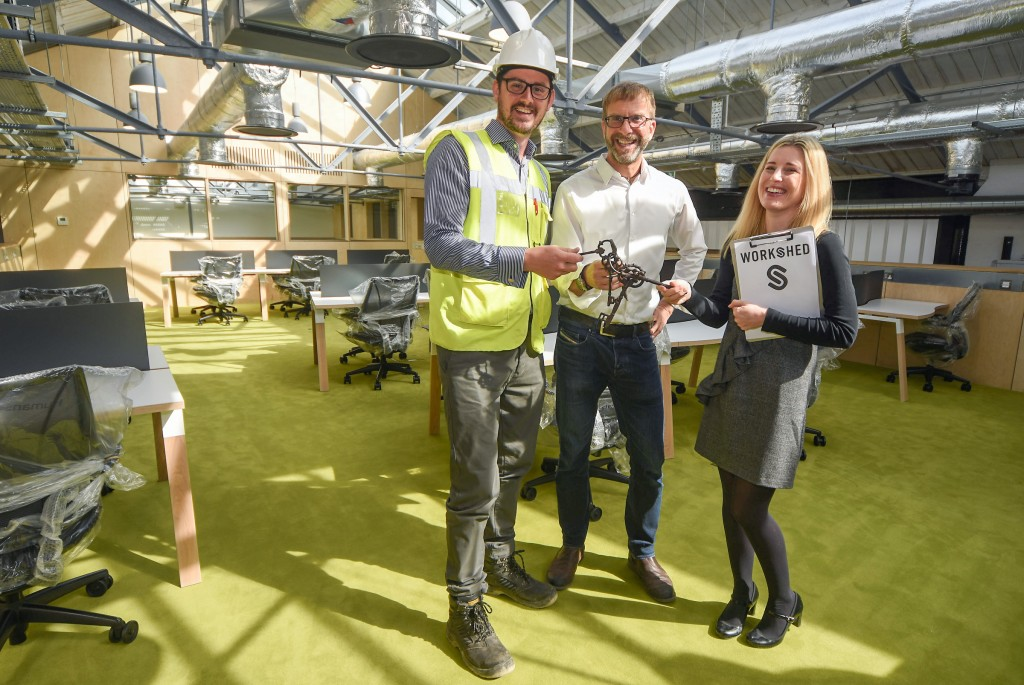 The Workshed incubation hub on track to deliver much-needed space for Swindon's tech innovators